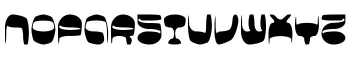 BDSpicyFruits-Brush Font UPPERCASE