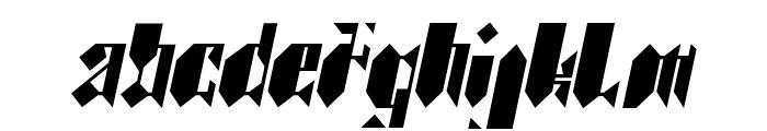 BDkristallo Font UPPERCASE