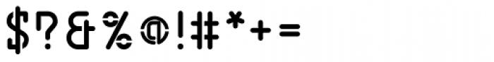 BD Jupiter Stencil Bold Font OTHER CHARS