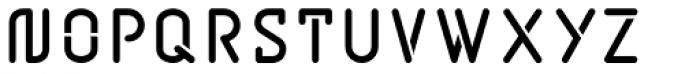 BD Jupiter Stencil Bold Font UPPERCASE