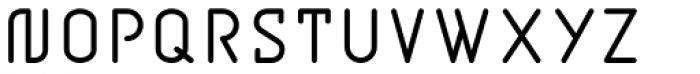 BD Jupiter Font UPPERCASE