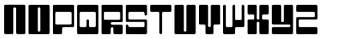 BD Kickrom Mono Font UPPERCASE