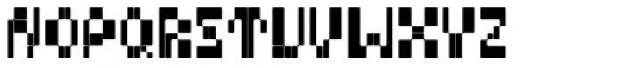 BD Micron Font Regular Font UPPERCASE