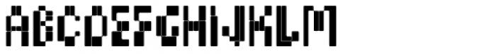 BD Micron Font Semi_Condensed Font LOWERCASE