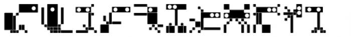 BD Micron Robots Muta5 Font LOWERCASE