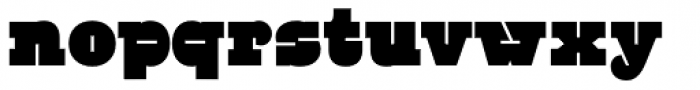 BD Mother Font LOWERCASE