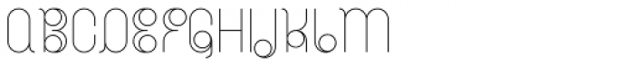 BD Radiogram Narrow Font UPPERCASE