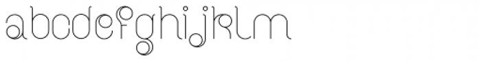 BD Radiogram Narrow Font LOWERCASE