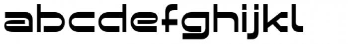 BD Retrocentric Font LOWERCASE