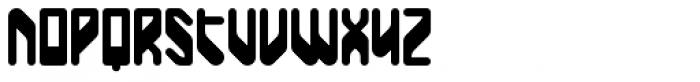 BD Unicorse Font UPPERCASE