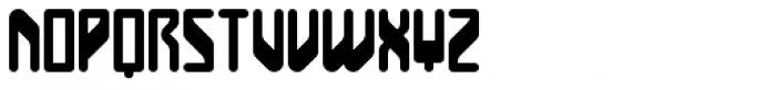 BD Unicorse Font LOWERCASE