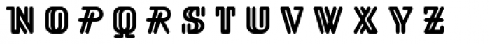 BD Viewmaster Neon Font UPPERCASE