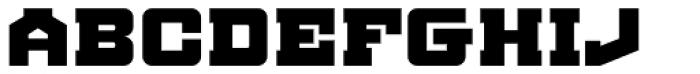 BDR AMIK Font UPPERCASE