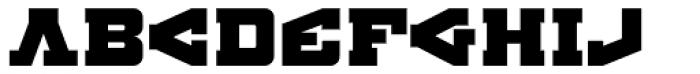 BDR AMIK Font LOWERCASE