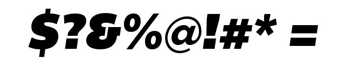BemioItalic Font OTHER CHARS
