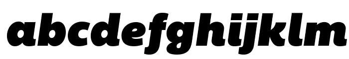 BemioItalic Font LOWERCASE