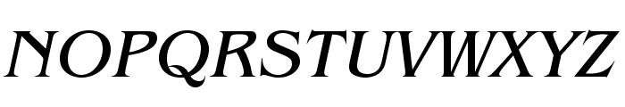 BenguiatStd-BookItalic Font UPPERCASE