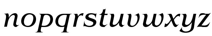 BenguiatStd-BookItalic Font LOWERCASE
