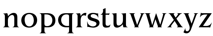 BenguiatStd-Book Font LOWERCASE
