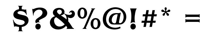 BenguiatStd-Medium Font OTHER CHARS