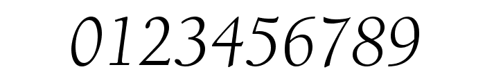 BerkeleyStd-BookItalic Font OTHER CHARS