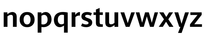 Berlingske Sans Bold Font LOWERCASE