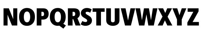 Berlingske Sans Condensed Black Font UPPERCASE