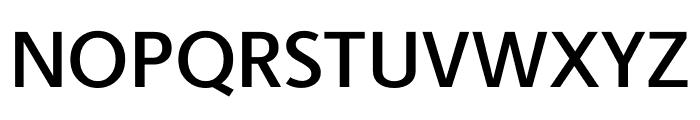Berlingske Sans Demi Bold Font UPPERCASE