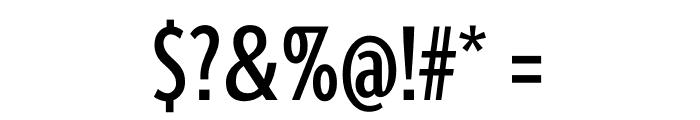 Berlingske Sans Extra condensed Medium Font OTHER CHARS