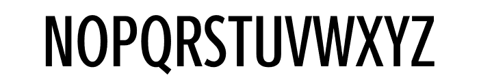 Berlingske Sans Extra condensed Medium Font UPPERCASE