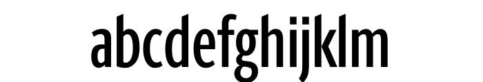 Berlingske Sans Extra condensed Medium Font LOWERCASE