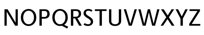 Berlingske Sans Medium Font UPPERCASE