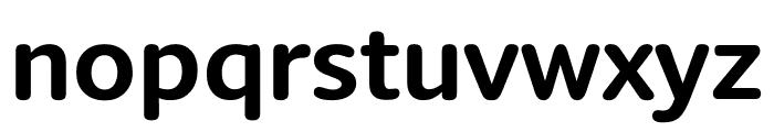 Berlingske Sans Round Bold Font LOWERCASE