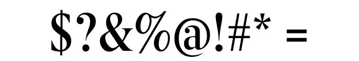 Berlingske Serif Condensed Medium Font OTHER CHARS