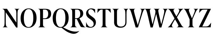 Berlingske Serif Condensed Medium Font UPPERCASE