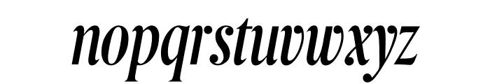 Berlingske Serif Extra condensed Italic Font LOWERCASE