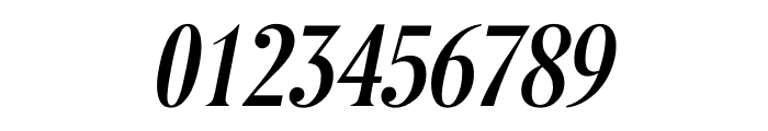 Berlingske Serif Extra condensed Medium Italic Font OTHER CHARS