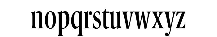 Berlingske Serif Extra condensed Regular Font LOWERCASE