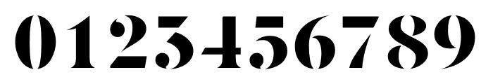 Berlingske Serif Stencil Black Font OTHER CHARS