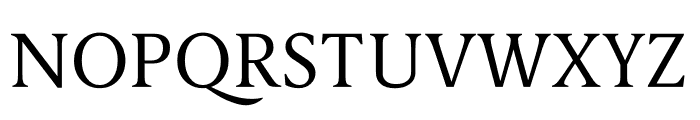 Berlingske Serif Text Light Font UPPERCASE