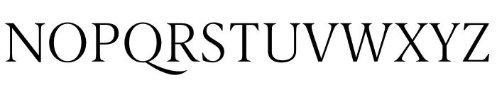 Berlingske Serif Text Thin Font UPPERCASE