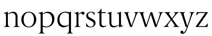 Berlingske Serif Text Thin Font LOWERCASE