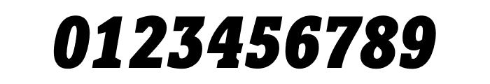 Berlingske Slab Condensed Black Italic Font OTHER CHARS