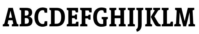 Berlingske Slab Condensed Bold Font UPPERCASE