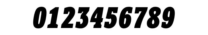 Berlingske Slab Display Black Italic Font OTHER CHARS