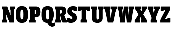 Berlingske Slab Display Black Font UPPERCASE