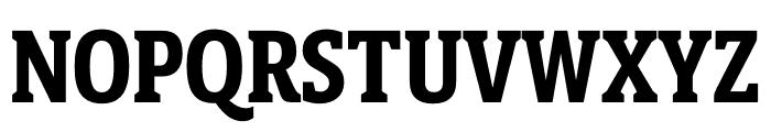Berlingske Slab Display Bold Font UPPERCASE