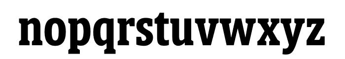 Berlingske Slab Display Bold Font LOWERCASE