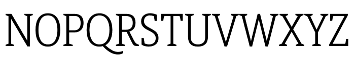 Berlingske Slab Display Light Font UPPERCASE