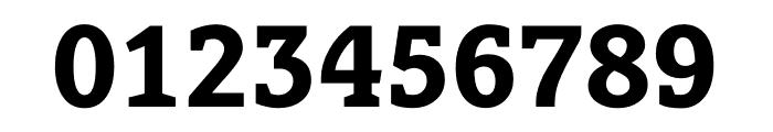 Berlingske Slab Extra Bold Font OTHER CHARS